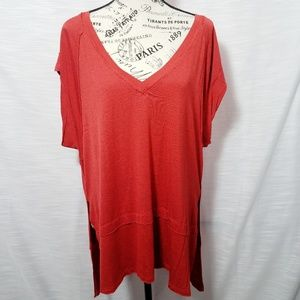 We The Free Rustic Short Sleeve Tunic Top